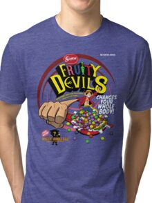 Gomu Fruity Devils Tri-blend T-Shirt