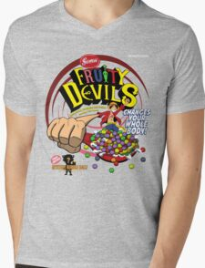 Gomu Fruity Devils Mens V-Neck T-Shirt
