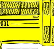Old school bus Sticker