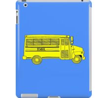 Old school bus iPad Case/Skin