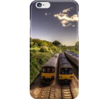 Summer Saturday at Aller Junction iPhone Case/Skin
