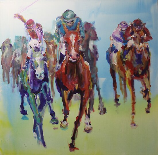 Cup Day by christine purtle