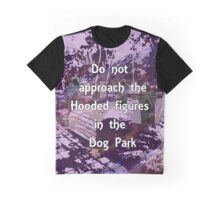 Hood Figures in the Dog Park Graphic T-Shirt