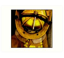 Waiting for Fire - Battalion 2 Art Print