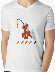 Trot On, Epona! Mens V-Neck T-Shirt