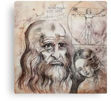 After Da Vinci Canvas Print