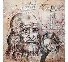 After Da Vinci Photographic Print
