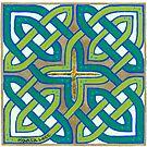 Celtic Knot, green by Marta Lett