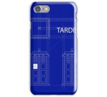 TARDIS Orthogonal iPhone Case/Skin