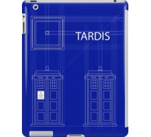 TARDIS Orthogonal iPad Case/Skin