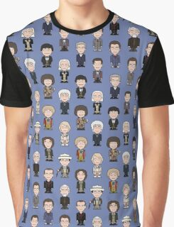 Repeating Doctors Graphic T-Shirt