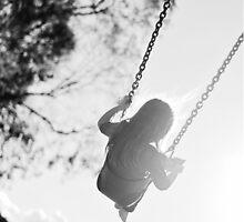 Swinging. by Bec Stewart