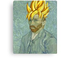 Vincent Van Goku Canvas Print