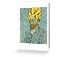 Vincent Van Goku Greeting Card
