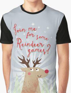 Reindeer Games Graphic T-Shirt