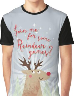 Reindeer Games Graphic T-Shirt