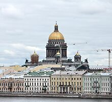 cityscape in Saint Petersburg  by mrivserg