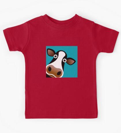 Moo Cow - T Shirt Kids Tee
