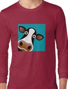 Moo Cow - T Shirt Long Sleeve T-Shirt