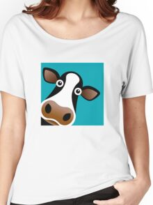 Moo Cow - T Shirt Women's Relaxed Fit T-Shirt
