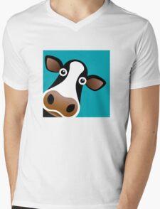 Moo Cow - T Shirt Mens V-Neck T-Shirt