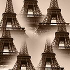 Eiffel Towers by Karen Lewis