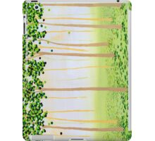 Misty Morning Forest iPad Case/Skin