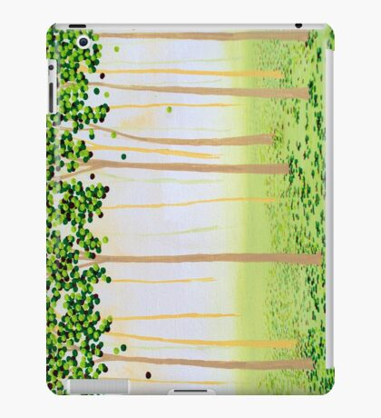 Misty Morning Forest iPad Case/Skin