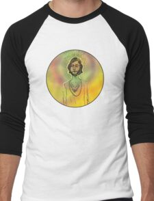 60s Psychedelic Hippie Men's Baseball ¾ T-Shirt