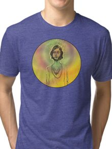 60s Psychedelic Hippie Tri-blend T-Shirt