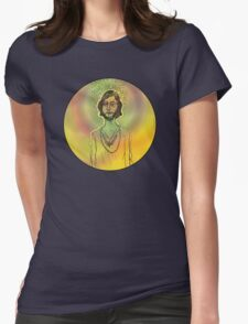 60s Psychedelic Hippie Womens Fitted T-Shirt