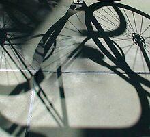 Bikeshadow in Brisbane by Marguerite Scaife