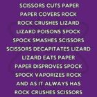 BIG BANG RULES - Rock, Paper, Scissors, Lizard, Spock by mumblebug