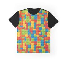 lego texture pattern Graphic T-Shirt