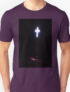 The sun shining through a church window. Unisex T-Shirt