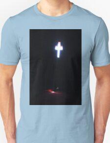 The sun shining through a church window. Unisex T-Shirt