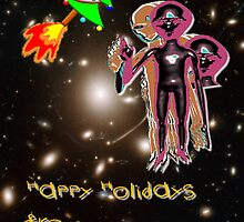 Happy Holidays from your Friends by Dennis Melling