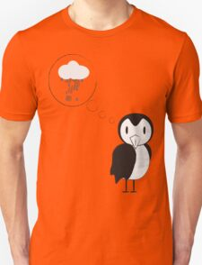 unknown penguin thoughts Unisex T-Shirt