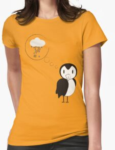 unknown penguin thoughts Womens Fitted T-Shirt