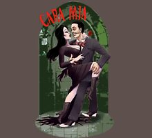 CARA MIA! Morticia <3 Gomez  Womens Fitted T-Shirt