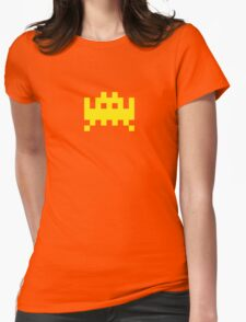 Pixel Invader Womens Fitted T-Shirt
