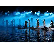 Light Show, Yangshuo, Guangxi Photographic Print