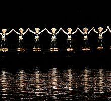 Light Show, Yangshuo, Guangxi by DaveLambert