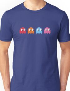 Pixel Ghosts Unisex T-Shirt