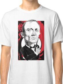 Daniel Craig as James Bond Classic T-Shirt