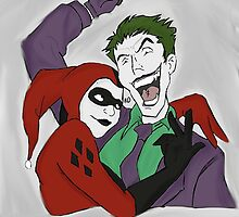 Joker and Harley by RoryD