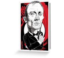 Daniel Craig as James Bond Greeting Card