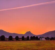 Winter Sunset by Prasad