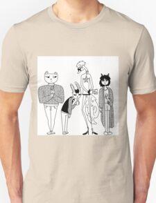 winter animals Unisex T-Shirt