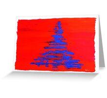 Alternative Christmas Tree Greeting Card